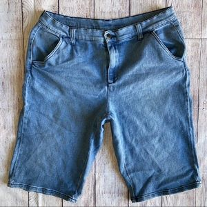 Diane Gilman 12 Denim jeans shorts
